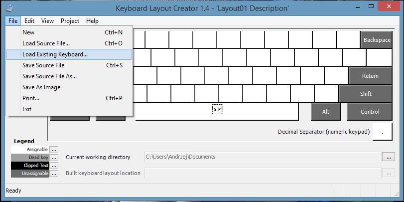 Programmers Keyboard Layout Standard Keyboard Layout