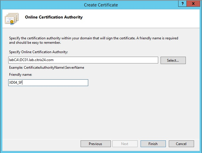 StoreFront server - how to install SSL certificate - citrix24.com