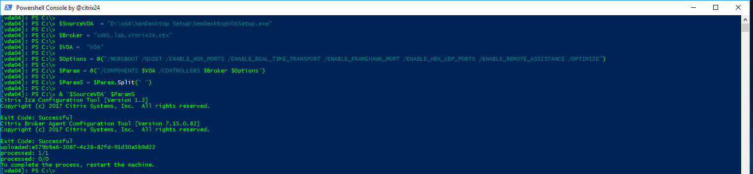 XenDesktop 7 15 automation with powershell - citrix24 com