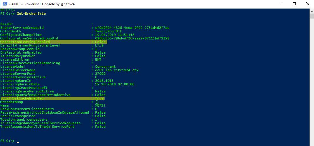 How to recreate XenDesktop 7 15 Local Host Cache - citrix24 com